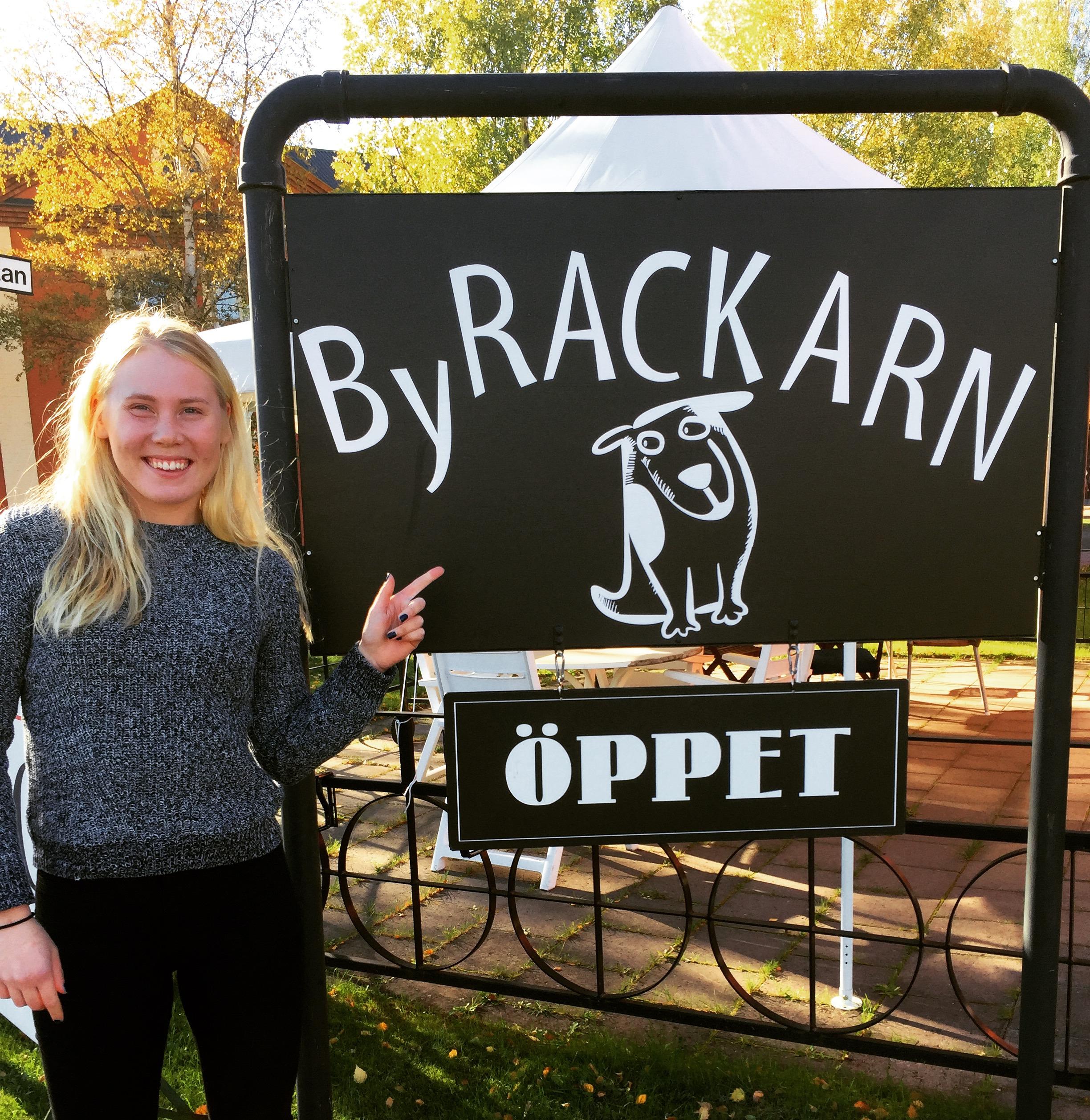 Min nyaste sponsor! Byrackarn är en lunchrestaurang i Orsa